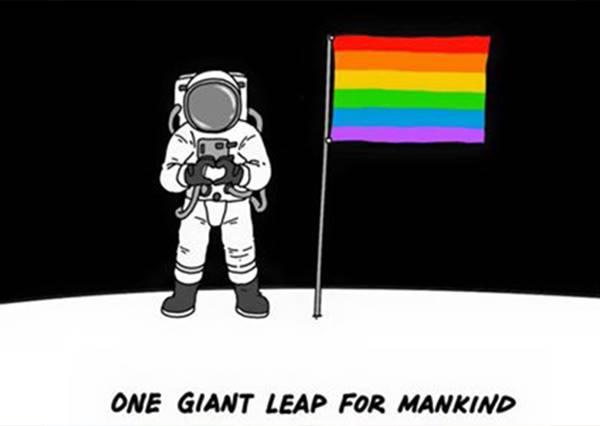 讓彩虹在藝術中綻放!台灣人氣插畫家用創作說出#Lovewins