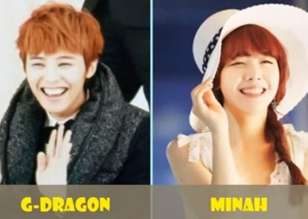 李鍾碩跟NANA說是雙胞胎也會有人信啊!韓國男女明星撞臉,根本只是長髮跟短髮的差別吧