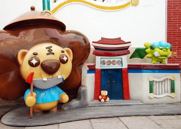 文化古城玩出新滋味  超萌劍獅伴遊的台南一日輕旅行