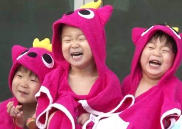 小熊維尼怎麼跑出電視了?!喔不對,是明星的萌小孩們穿起動物裝啦!