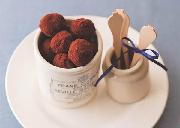 瞄過就會!教你手作淡淡酒香的蘭姆巧克力,1顆星難度連小學生都會!