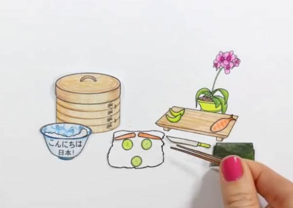 小人國超夯美食節目你看過嗎?「拇指姑娘的迷你烹飪日記」,怎麼包個飯糰也能讓人重播十次超療癒啊!