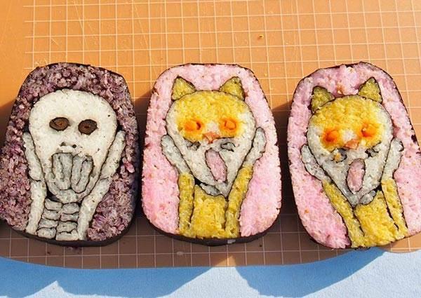 壽司切開還內贈杯麵讓你加菜?也太狂!超精緻日本壽司,連富士山都這麼可愛怎麼捨的吃!