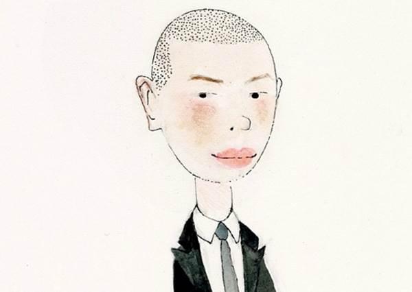 有亮點!這次紐約時裝周的品牌設計師,居然現身成為設計圖裡Q版人物!
