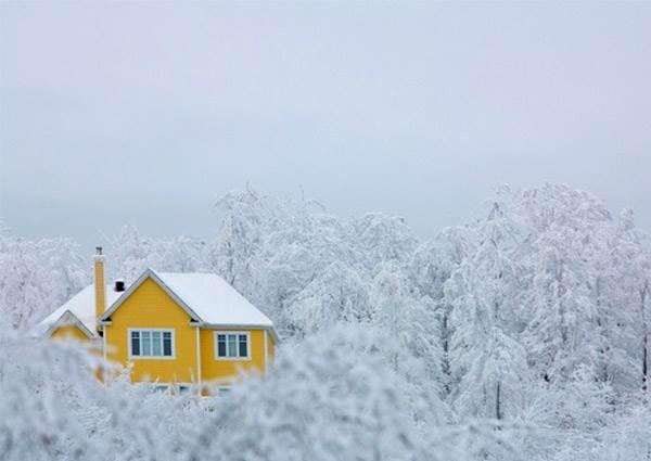 【14個絕美的雪地小木屋,讓你遠離世俗塵囂隱居】今晚,你選哪一間入住呢?