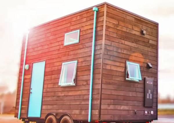 一家四口擠得下9坪小屋?小空間大改造!環保拖車小屋正在流行~