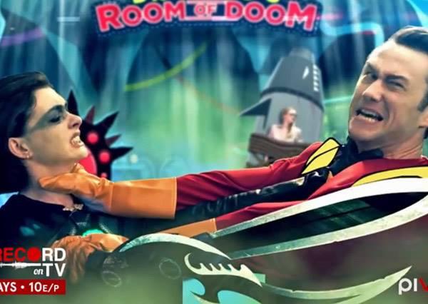 超級英雄喬瑟夫高登萊維特P.K.大反派安海瑟薇~爆笑英雄微電影線上看