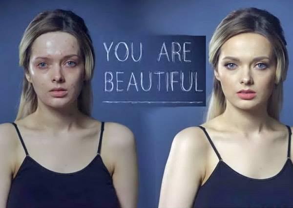 被10萬人罵噁心的她,決定PO上完妝照,讓大家看清網友有多善變!