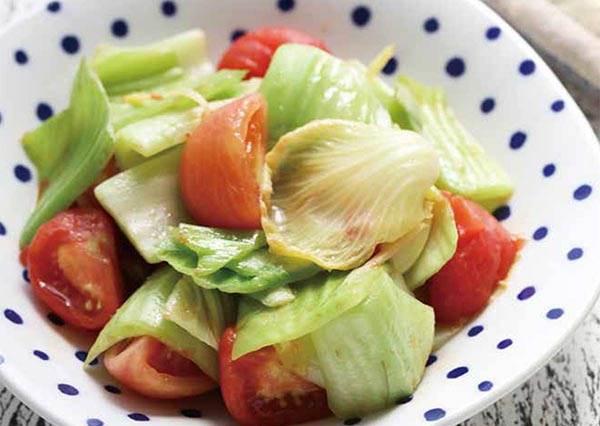 維他命C超高標!想做出爽脆度100分口感的番茄芥菜,秘訣要這樣子快炒!