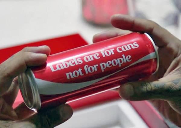 拒絕貼標籤!可口可樂在中東發起了一項有趣的活動,鼓勵人們廢除偏見