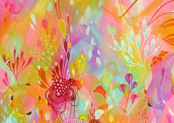 揮舞夢幻的色彩走入奇幻的花草世界!還可以在手機殼上開花!