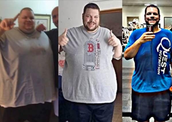 男子為了參加小天后泰勒絲的演唱會,靠著堅強毅力兩年內狂減了180公斤!