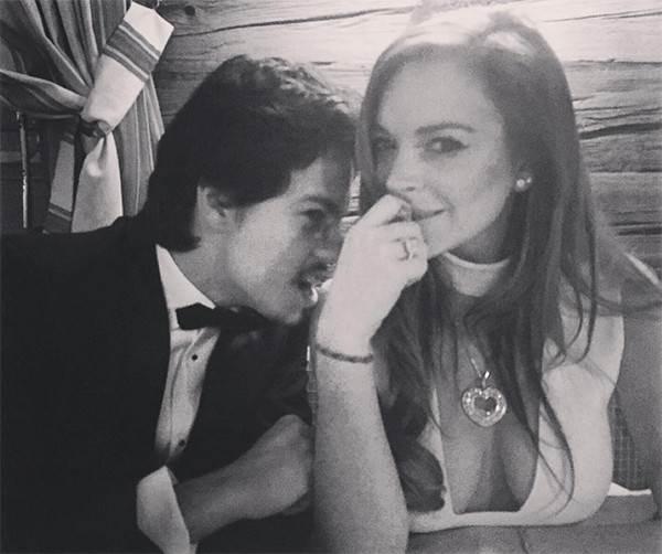 琳賽蘿涵甜蜜熱戀中!男友是22歲俄羅斯富豪