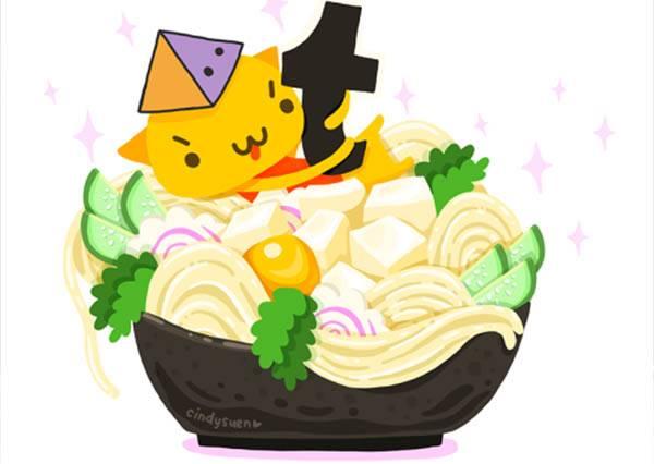 下午茶就決定是貓星人三明治!插畫家將貓咪變身各種食材,老闆每道都請來十份!