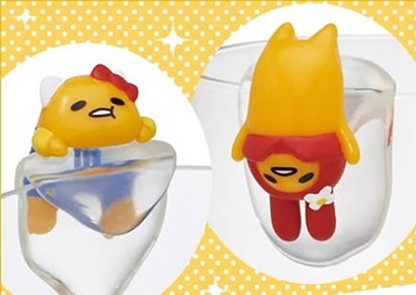 【蛋黃哥 x 三麗鷗系列杯緣子】每款都好合阿 尤其是布丁狗根本毫無違和