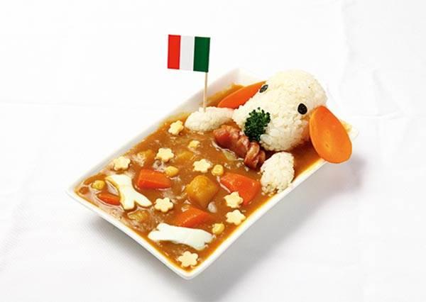 日本正夯!一起來做可愛又簡單的「狗狗咖哩飯」吧!