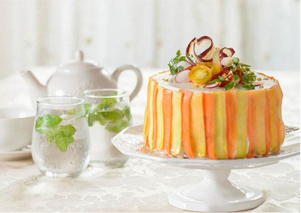 是蛋糕,也是沙拉!日本話題咖啡店的超美味蔬菜甜點,連正在減肥的女生都能很放心吃!