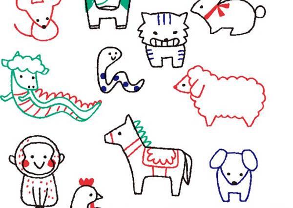 超羨慕會畫畫的人自己卻永遠做不到? 沒關係,就跟著達人一筆一畫創造出超可愛人物&動物插畫~