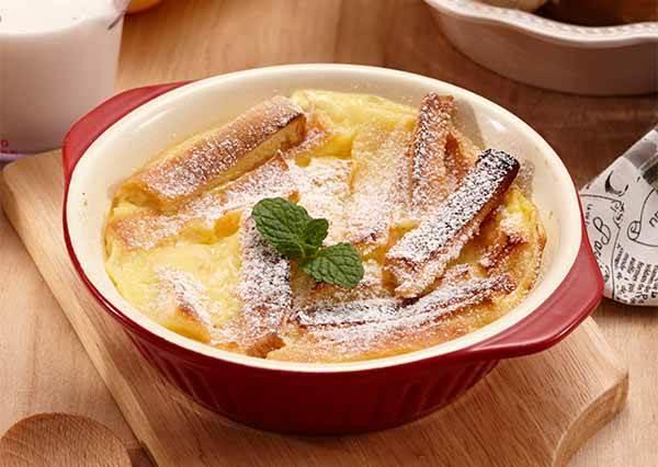 家用小烤箱做甜點每次都「糙灰搭」? 多加一個小步驟,保證你的《烤吐司布丁》再也不烤焦!
