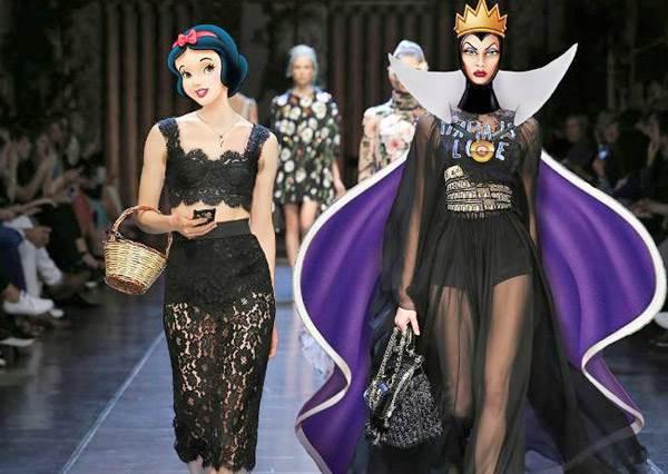 迪士尼公主走伸展台!比真人更能駕馭秀服,誰是最耀眼的Top Model?