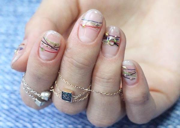 有了它誰還需要戴飾品? 韓國女孩大勢指彩就是這款「手鍊指甲」!