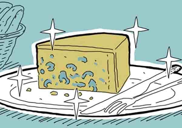對不起,它的美味我不懂!百分之90男性最不解女生喜歡的法國甜點「藍黴乳酪」