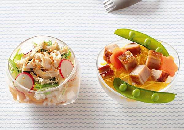 明明是吃飯也能有像吃沙拉一樣的清爽感? 4步驟完成「雞肉壽司」,一次學會兩種做法