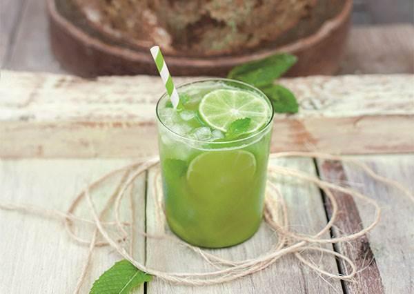 雖然是綠色蔬果汁但一點怪味都沒有! 自製「綠意萊姆」果汁竟然能當維他命B?