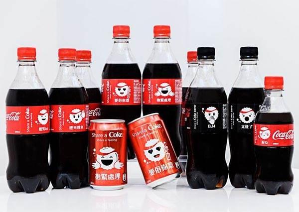 明星最狂的自拍新聖品!一起拿可口可樂限量表情符號瓶玩Selfie