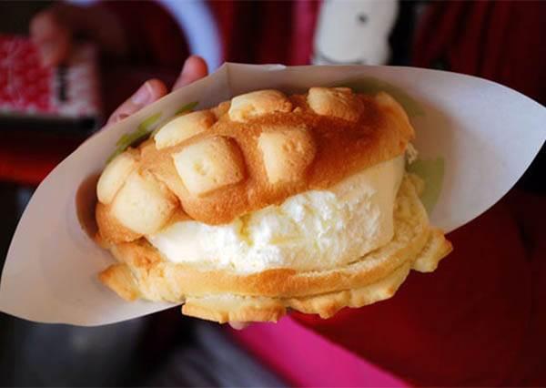 【號稱世界第二好吃的冰淇淋菠蘿麵包即將在台北插旗囉】不用飛日本就可以吃到啦~~