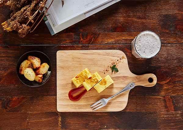 我們就是沒有廚師的手藝! 讓手殘妞15分鐘輕鬆做《蔬菜蛋捲》+《水果奶昔》的早午餐大作戰