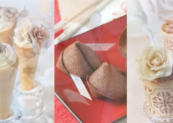 根本就是甜點界的變形金剛!學會這款「杏仁瓦片」,就同時學會三種點心