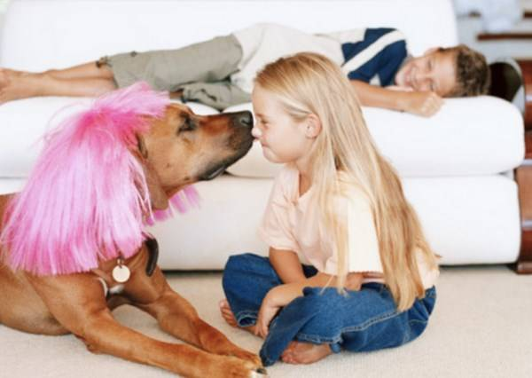 拉鉤不許跟別人做 專屬主人與毛孩間的親暱磨鼻!
