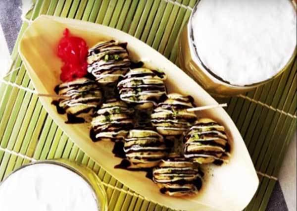 還以為是啤酒結果變果凍? 來看怎麼用小泡芙做出你沒吃過的甜點版章魚燒套餐!