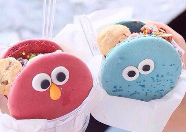 【曼谷必吃!Bonca超可愛馬卡龍夾心冰淇淋】不只好吃,還超可愛!喜歡的卡通人物都吃下肚吧~