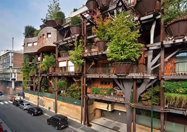 【宮崎駿樹屋出現在義大利都靈!! 】 新式公寓結合自然 下次來做個移動的城堡吧