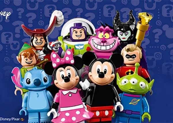 抽到什麼只能靠運氣!樂高×迪士尼18隻經典公仔大集合,你最想要哪一隻?