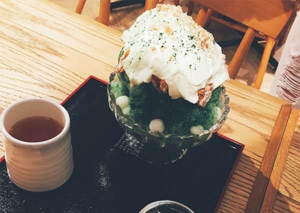 日本起司塔加入冰品大戰!起司鮮奶油完美融合日式雪冰,就只有它辦的到啊!