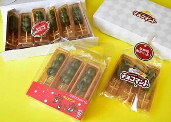 【夏天食欲不佳, 來看看色彩繽紛的甜品開開胃吧】作得真的好像西瓜喔~ 好想吃看看