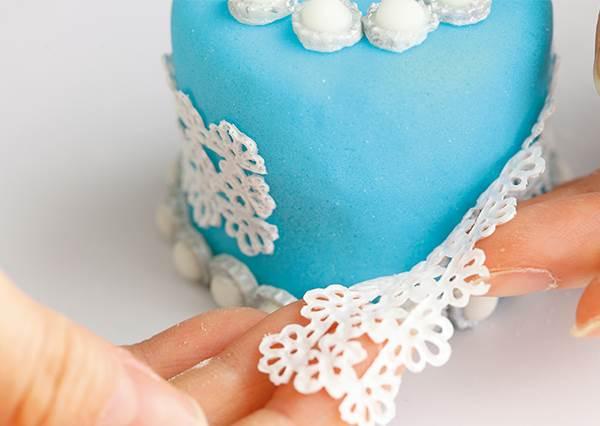 買不起就自己做一個!超夢幻《珠寶盒蛋糕》DIY,滿足心中的藍色少女心