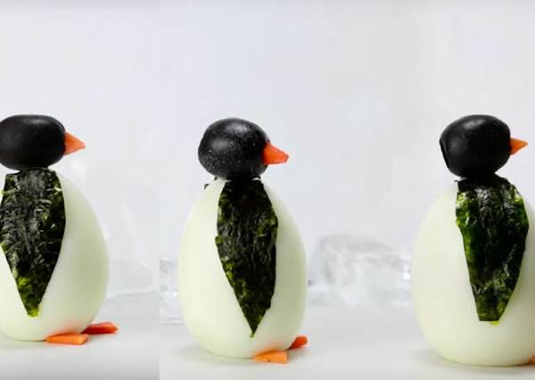 連小朋友也會的可愛《企鵝水煮蛋》,吃下也能有消暑效果嗎!?