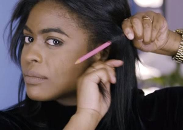沒有橡皮筋、沒有髮夾也沒關係? 一隻鉛筆搞定7種編髮,只用來寫字真的太可惜!