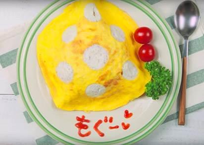 拉拉熊便當交給神人去做吧~我們只要學會日本最夯的「圓點蛋包飯」就夠了!