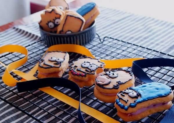情人節女孩必學!!夾心般甜蜜的滋味~簡單巧手就能繪做出辛普森一家!