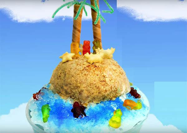 """料理=藝術,就讓韓國妞親自教學最愛的""""海灘刨冰""""告訴你這個道理!"""