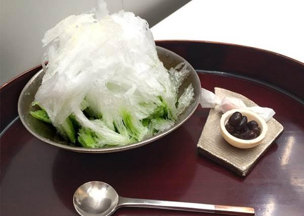 東京車站附近可吃到的傳統刨冰3選!有豐厚鬆軟的杏子果肉,果然最單純好吃