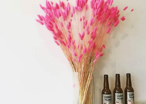 就是想被花花草草包圍❤用乾花DIY立體卡片,還能佈置少女美美的房間!