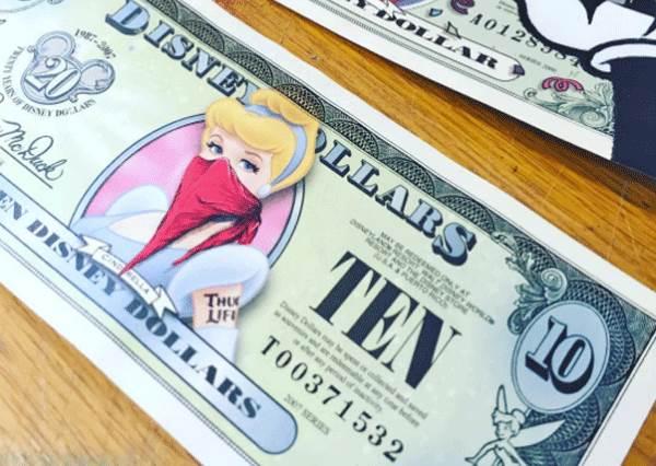 反派角色頭像竟然豪無違合感!迪士尼成員們亂入鈔票當主人公,你們最想蒐集哪一張?