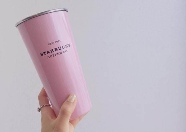 你也是星巴粉?最新粉色隨行杯外加星冰樂美妝品,荷包直接遞出也甘願!