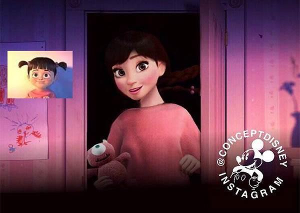 睽違15年...《怪獸電力公司》的小女孩阿布要當主角出電影了!?
